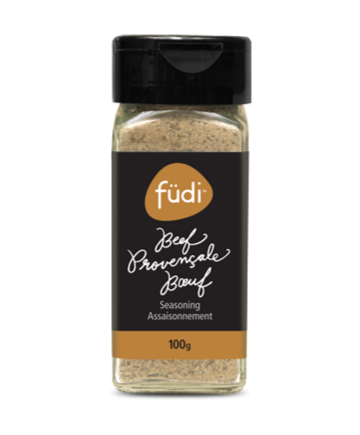 Make sure this hearty spice blend is part of your mise en place for all your favourite French recipes. Adds a certain je ne sais quoi to beef or lamb. Rub generously on the meat prior to cooking or add to taste during and after cooking.